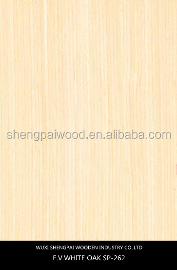 top quality artificial white oak laminated veneer sheet