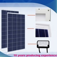 Grade A soalr panel factory direct price per watt solar panel 100w for 5kw solar energy system use