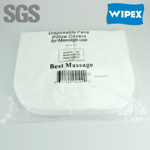 manufacturer spunlaced nonwoven disposable face covers for massage tables