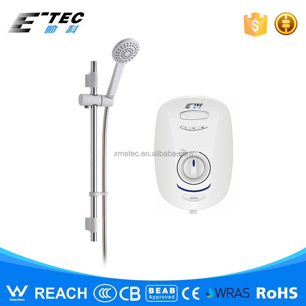 Digital display high power 10.5kW Tankless Instant Electric Water Heater for bathroom shower