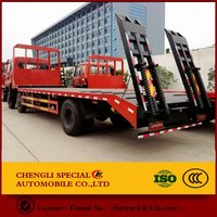 Flat bed cargo truck 20t 30t ChuFeng chassis Fast 9 shift gearbox