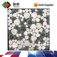 Oval Ceramic Mosaic Tile