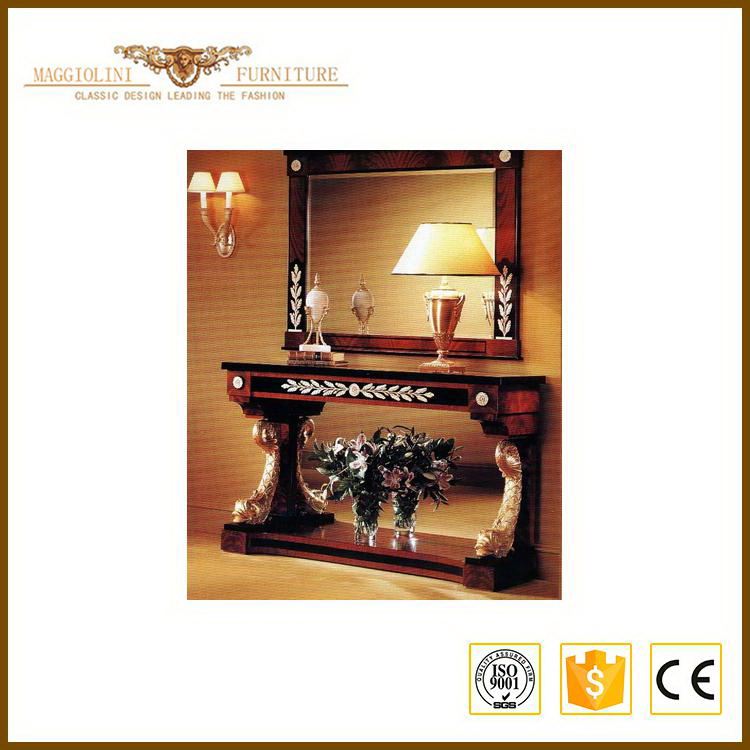 New style High quality entry table console mirror furniture