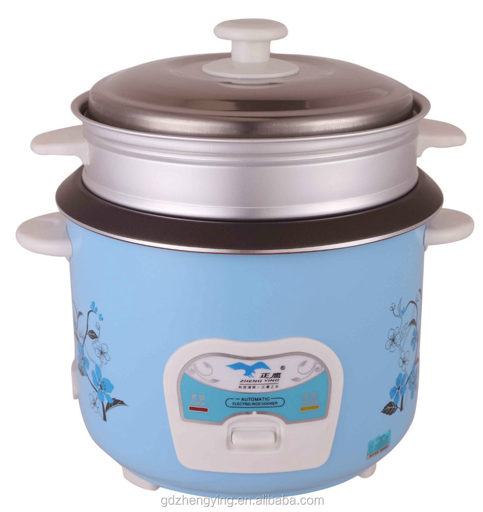Popular Sell Nice Baby Blue Cylinder 1.8L Rice Cooker Made in China
