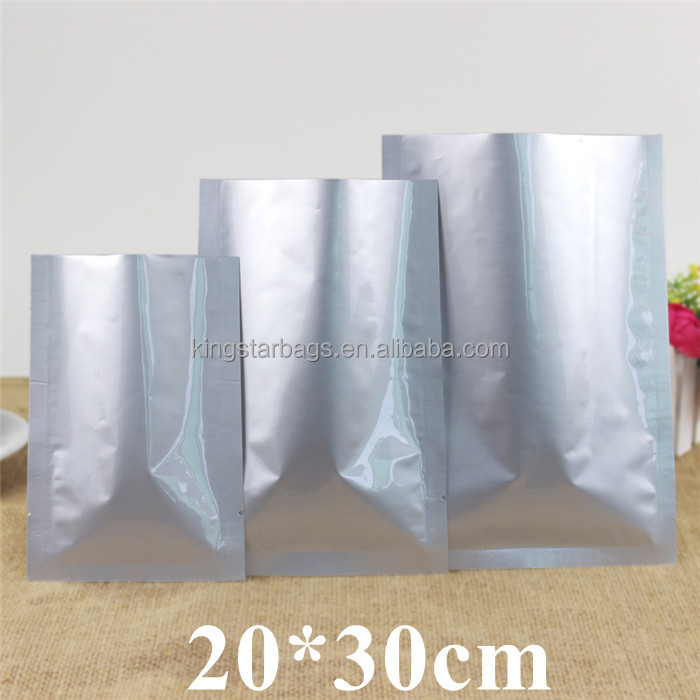 Customized heat seal Aluminum foil bags for food snack tea packing