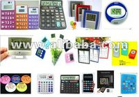 Colorful big Number LCD Display calculator