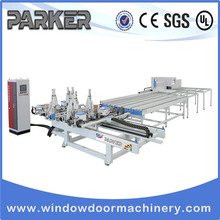 upvc window machine UPVC(Plastic) Window and Door Machinery Welding and Corner Cleaning Line vinyl window welding machine