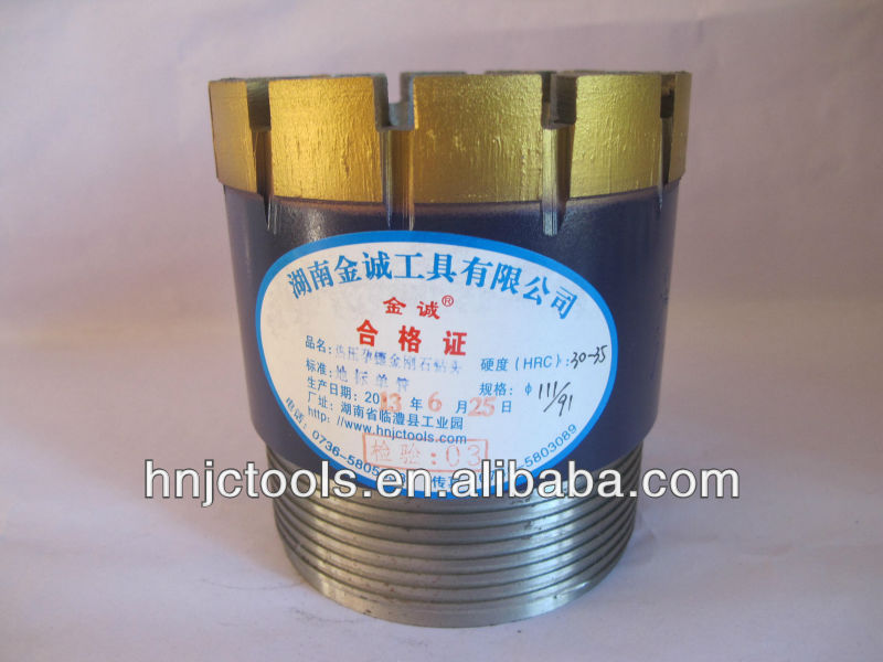 nx diamond core drill bits