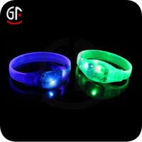 Most Popular Products 2016 China Wholesale Promotional Brand Luminous Wristbands