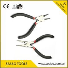 Fashion design reverse pliers with anti-slip grip