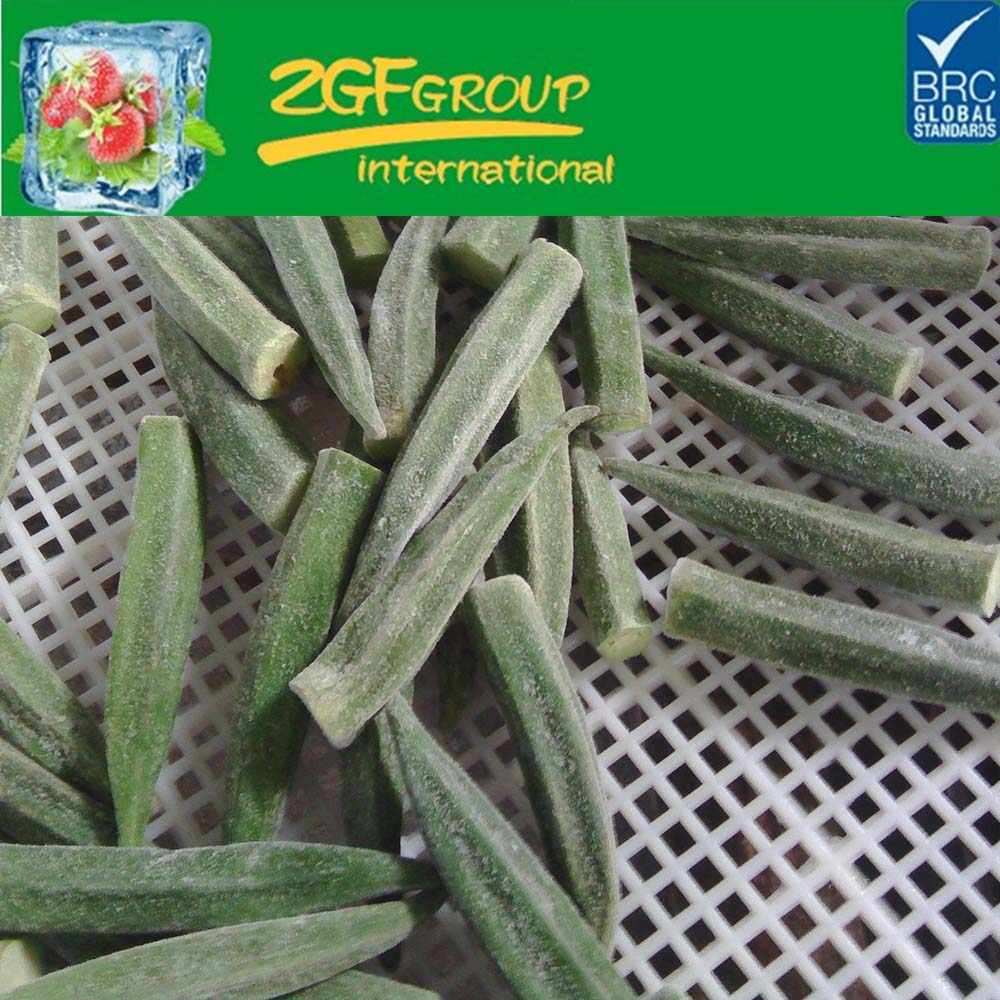 frozen fresh zero okra frozen