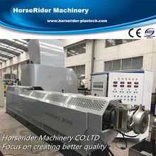High quality small plastic waste recycling machine/production line