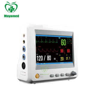 Factory Price Multi-Parameter Icu Portable Ambulance hospital patient monitor With Lcd Touch Screen