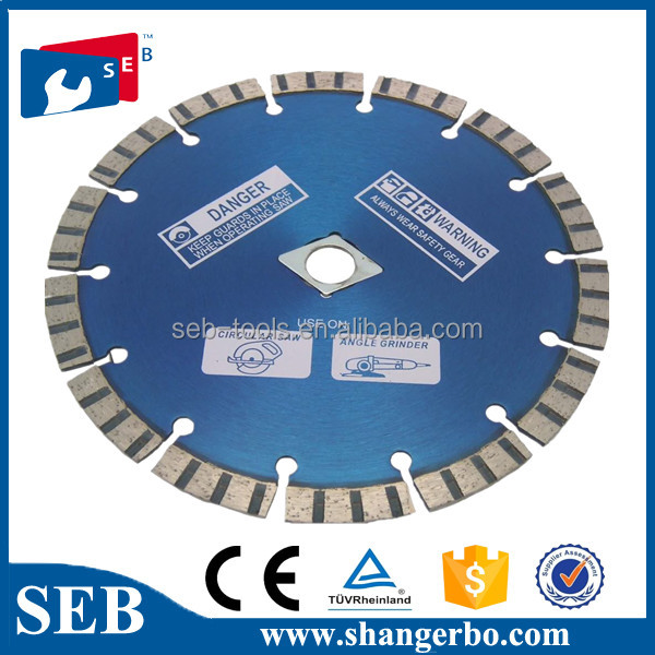 diamond saw blade for grinding concrete power tool