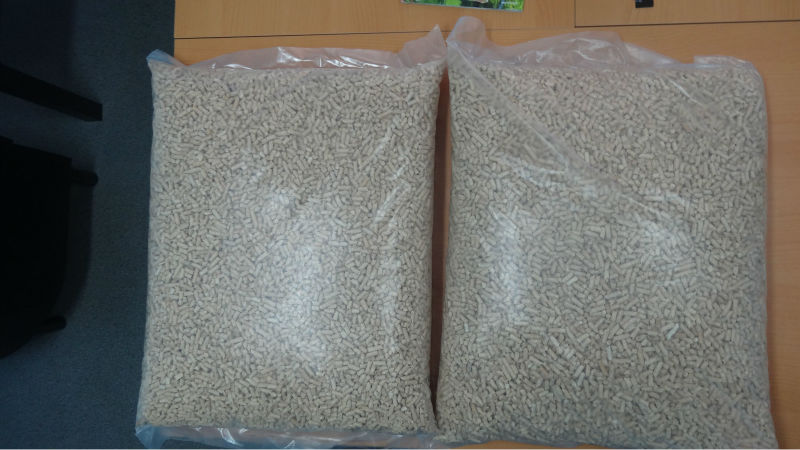 Wood Pellets in 15 kg bags