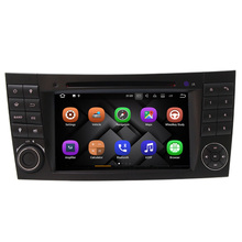 android 7.1 car dvd gps navigation for mercedes w211 audio A8 E Class (2003-2009) (E200,E220,E240,E270,E28) mp3 player