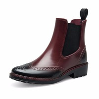 PVC Jelly Rain Boots Shoes For Women
