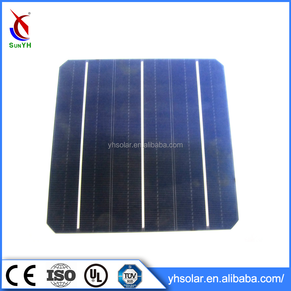 Wholesale China Factory Solar Cell Price Monocrystalline Silicon Solar Cell Price