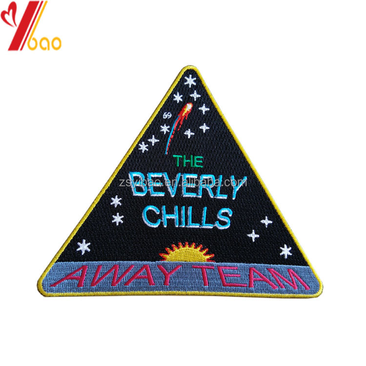 Custom embroidery patch/embroidery badges/embroidered patch for clothing/hats/bags/shoes
