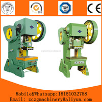 J23 series sheet metal power press machine rates from chinese factory for sale