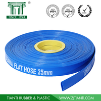 2015 Brand New Water Discharge Hose Heavy Duty Agriculture Irrigation PVC Layflat Hose