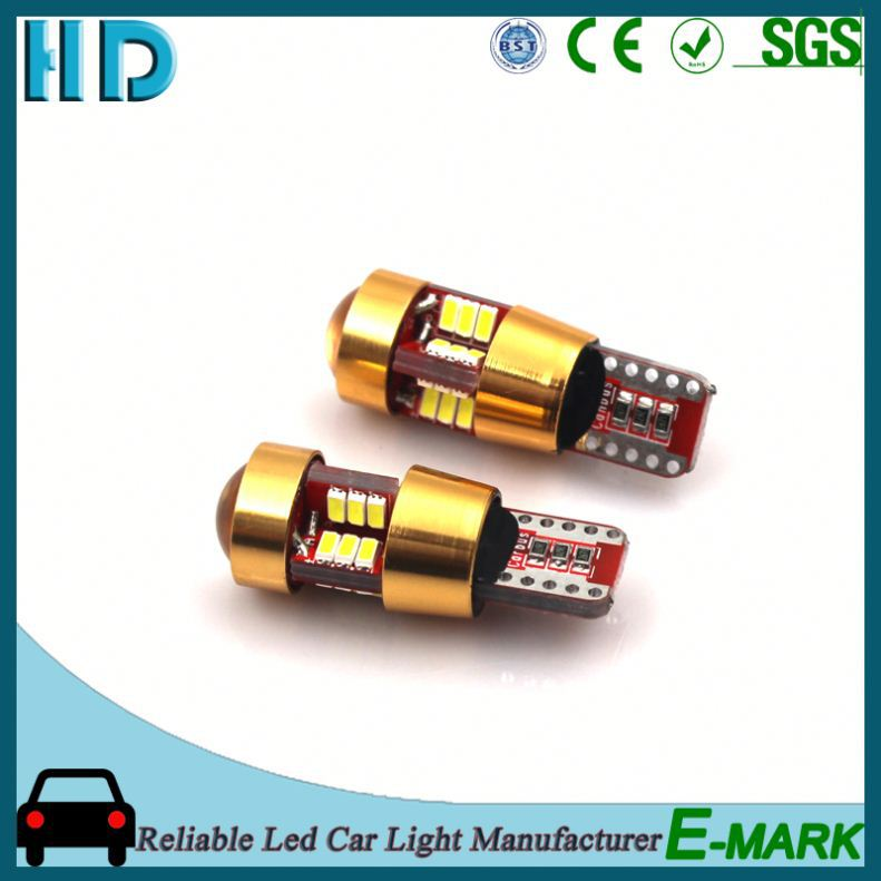 2016 new design t10 3528 16smd canbus 5630 auto led 12v ba9s