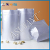 Green tea aluminum foil bag with zipper/silver plastic foil tea bag factory price
