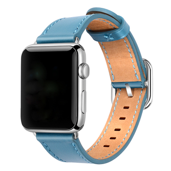 38mm 40mm 42mm 44mm Watch Strap Genuine Leather Watch Band for Apple Watch