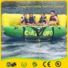 Inflatable flying water/fly fish banana boat/ fly fish tude for exciting games