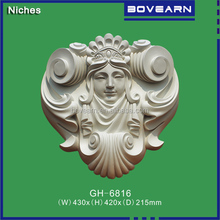 PU ornamental wall decoration / plaster like wall decor