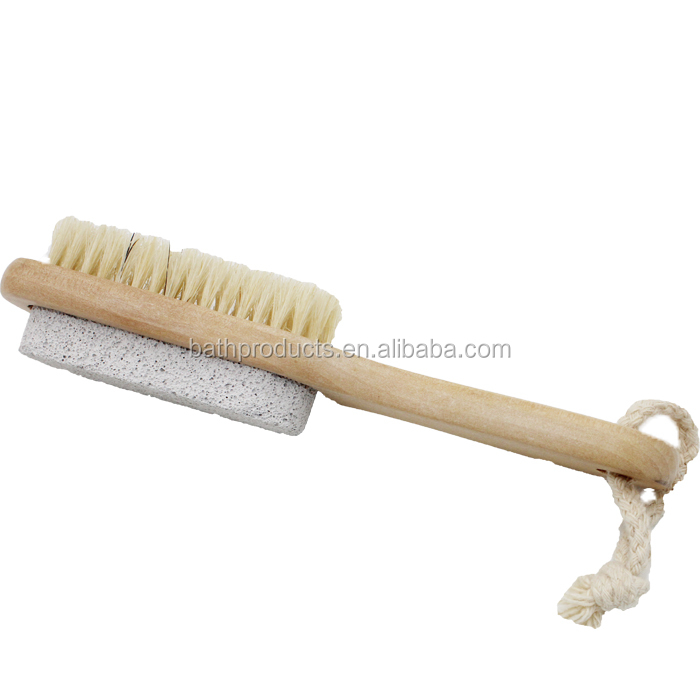 Promotional Multifunctional natural bristle brush animals ,japanese body brush for foot