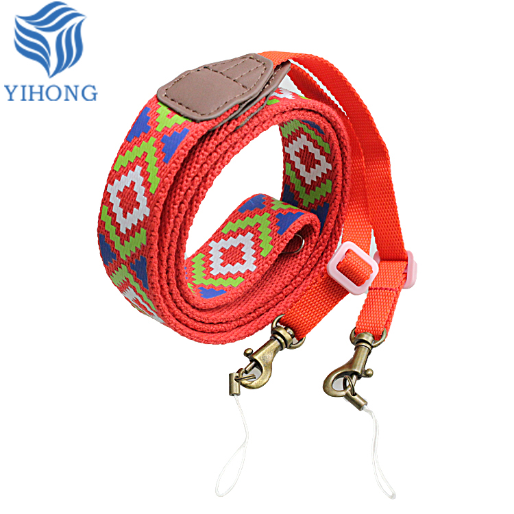 86 cm Total Length and Polyester Material woven cute camera straps for dslr