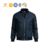 /product-detail/wholesale-nylon-custom-plain-zipper-up-bomber-jacket-60384623445.html