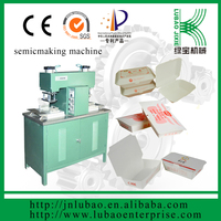 high quality paper fried chicken plate making machine with CE certificate