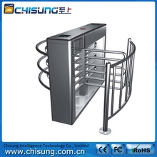 high quality full automatic half height turnstile gate with rfid reader