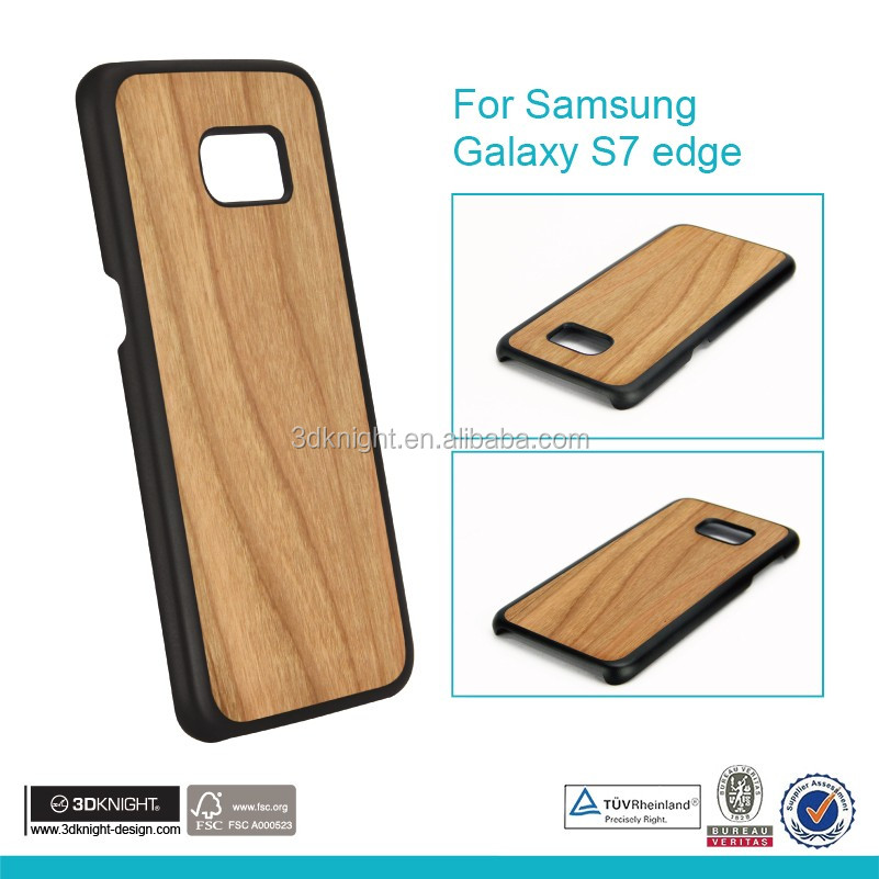 For Samsung galaxy wood mobile phone back cover