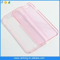 Clean transparent colour tpu phone case for iphone 6 case 360