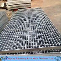 hot dipped galvanized composite pavement grating