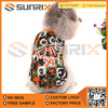 Printing Colorful Dog Clothes Sleeveless Dog T shirt clothing dress