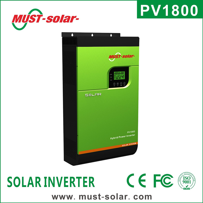 <Must Solar> Pure sine wave solar inverter off grid without battery for solar home system