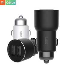 Xiaomi ROIDMI 3S 5V/3.4A FM Wireless Bluetooth Car USB Charger Music Player With Smart APP