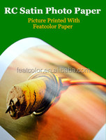 Hot Sale High Quality rc inkjet photo paper Glossy / Luster / Satin