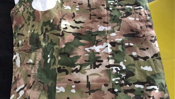 190T camouflage polyester taffeta with PVC coating for raincoat