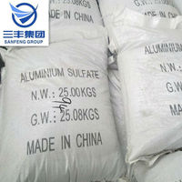 ironless aluminium sulphate for water treatment