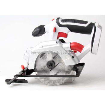 Cutting depth and angle adjustment highly efficient 18v circular saw