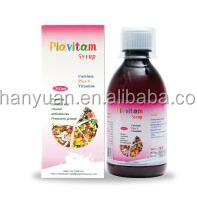 health food supplement iron and vitamin syrup or customize private formulation syrup