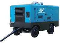 Drilling rig car portable air compressor for sale