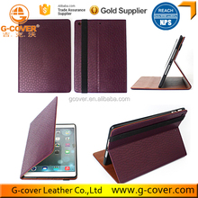 Custom Color Folding Leather Case Smart cover for Ipad 5