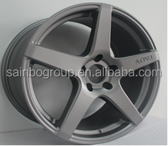 alloy car wheels for replica ADV size 18inch and size 19inch silver