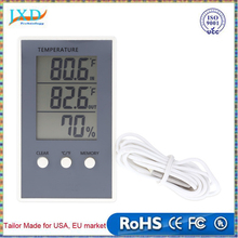 LCD Digital Thermometer Hygrometer Indoor/Outdoor Temperature Humidity Measurer weather station tester C/F Max Min Value Display